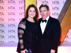 Ruth Jones and Rob Brydon (Ian West/PA)