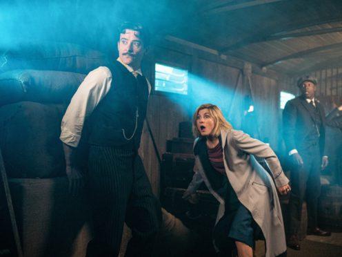 Goran Visnjic as Nikola Tesla in Doctor Who (Ben Blackall/BBBC/PA)