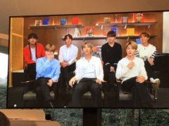Boyband BTS have unveiled their latest project – an art one (Sherna Noah/PA).