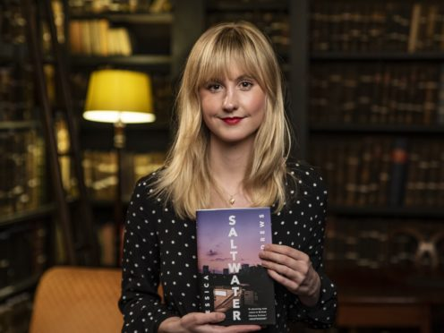 Saltwater is Jessica Andrews's debut novel (Andrew Brooks/PA)