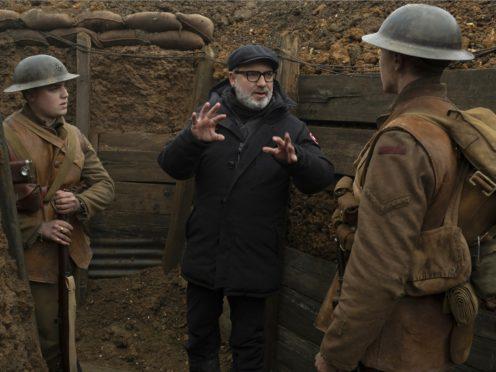 On the set of 1917 ((François Duhamel/Universal Pictures via AP)