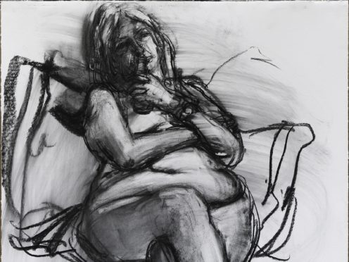 Professor Mary Beard has revealed she posed for life drawings in an attempt to 'democratise the nude' (Catherine Goodman/PA)