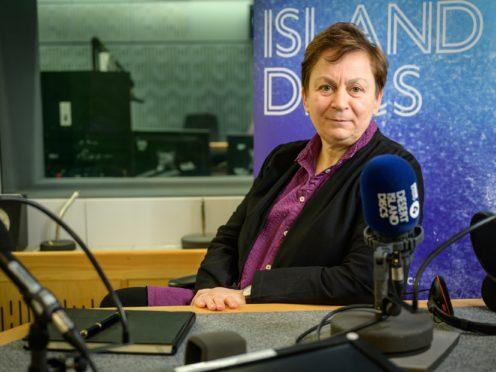 Anne Enright won the 2007 Booker Prize (Samantha Johnston/BBC/PA)
