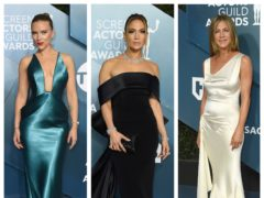 Scarlett Johansson, Jennifer Lopez, Jennifer Aniston (AP)
