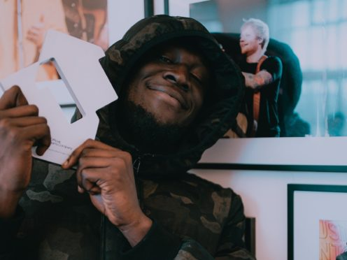 Stormzy has topped the charts again (Kaylum Dennis/Official Charts Company/PA)