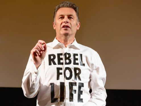Chris Packham delivered the Bafta Television Lecture (Bafta/PA)