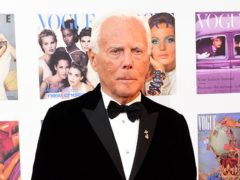 Giorgio Armani has raised eyebrows after comparing fashion trends to rape (Ian West/PA Wire)