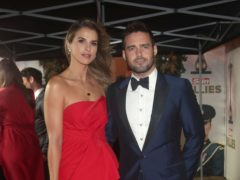 Vogue Williams and Spencer Matthews (Yui Mok/PA)