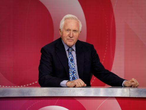 David Dimbleby (Richard Lewisohn/BBC/PA)