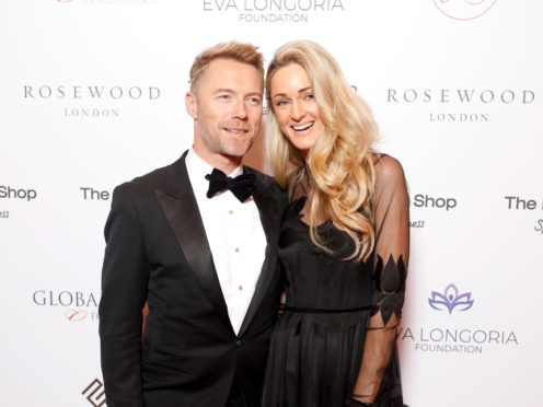 Ronan Keating and his wife Storm are expecting a daughter (David Parry/PA)