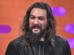 Jason Momoa underwent a startling transformation as he starred in an eye-catching Super Bowl commercial (Matt Crossick/PA)