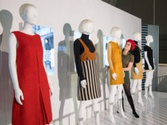 The Mary Quant exhibition showcases more than 120 garments (Dominic Lipinski/PA)