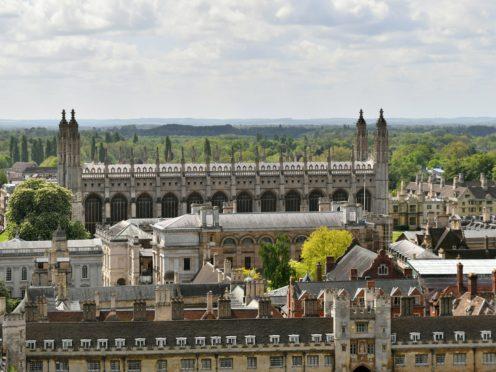 Cambridge University is launching a scriptwriting course (Joe Giddens/PA)