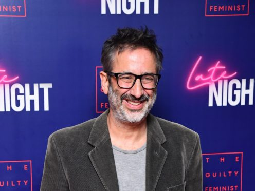David Baddiel is best known for his partnerships with Rob Newman and Frank Skinner (Ian West/PA)