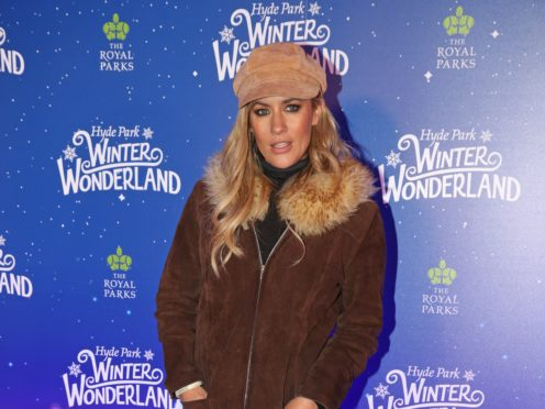 Caroline Flack attends the launch of Hyde Park Winter Wonderland (Jonathan Brady/PA)