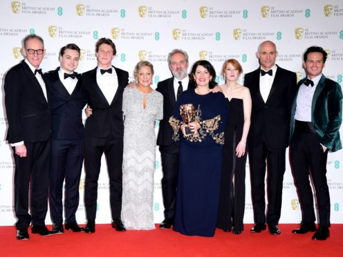 1917 has been feted at the Baftas (Ian West/PA)