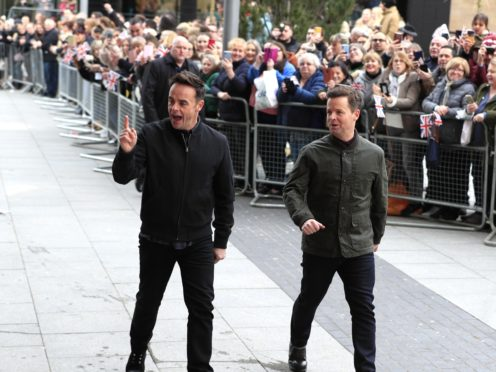 Anthony McPartlin and Declan Donnelly (Peter Byrne/PA)