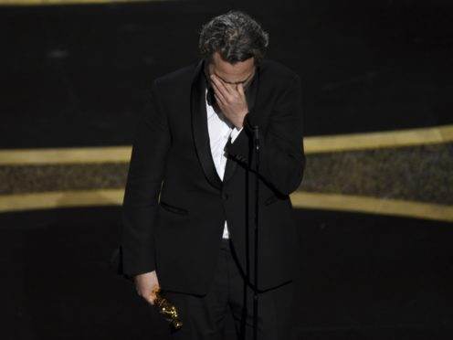 Oscar winner Joaquin Phoenix championed a string of progressive causes during his acceptance speech for best actor (AP Photo/Chris Pizzello)