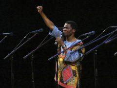 Ladysmith Black Mambazo founding member Joseph Shabalala (Joseph Kaczmarek/AP)