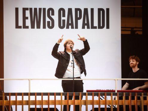 Lewis Capaldi stuns crowds in London with surprise free gig (Matt Alexander/PA)