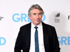Steve Coogan stars in Greed (Ian West/PA)