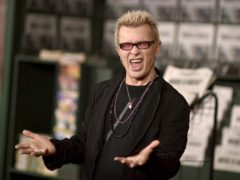 Billy Idol is urging New York drivers to stop idling (Richard Shotwell/Invision/AP)