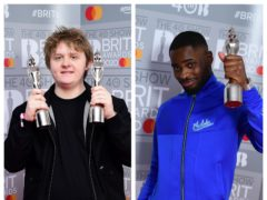 Lewis Capaldi and Dave (PA)