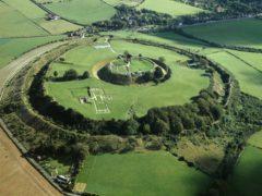 Old Sarum in Wiltshire (English Heritage)