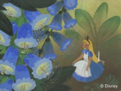 Concept art by Mary Blair for Alice In Wonderland (Disney)