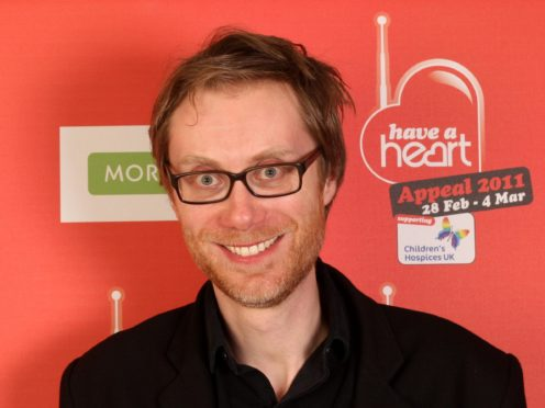 Stephen Merchant says he is about two metres tall (Dominic Lipinski/PA)
