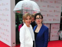 Former The Great British Bake Off hosts Mel Giedroyc and Sue Perkins have revealed they offered their resignation on day one of filming over fears the tone of the show was too nasty (Ian West/PA)