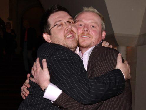 Simon Pegg and Nick Frost (Yui Mok/PA)