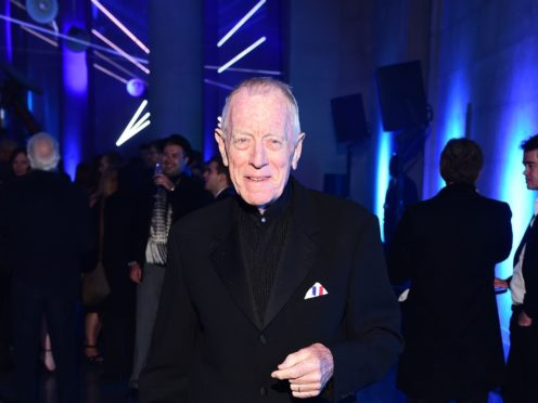 Max von Sydow has died at the age of 90 (Ian West/PA)
