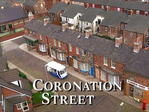 Coronation Street has banned kissing scenes in an attempt to halt the spread of coronavirus on set (ITV/PA)