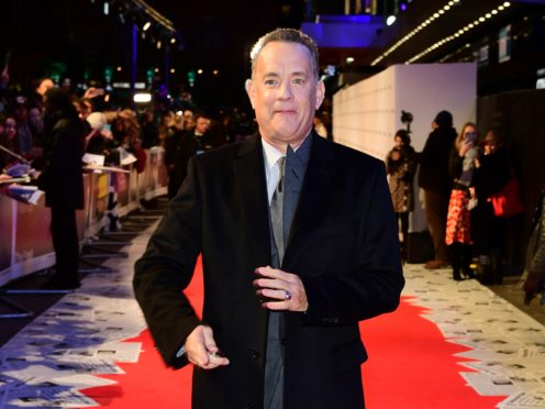 Tom Hanks (Ian West/PA)