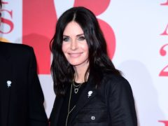 Courteney Cox has revealed she is binge watching Friends while isolating amid the coronavirus outbreak IIan West/PA)