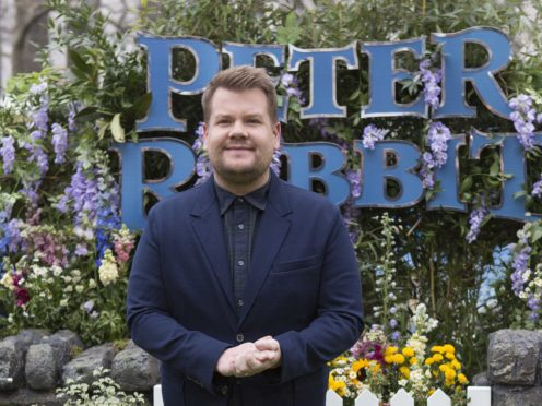 James Corden was joined by an array of A-list stars for a special The Late Late Show broadcast from his garage (Rick Findler/PA)