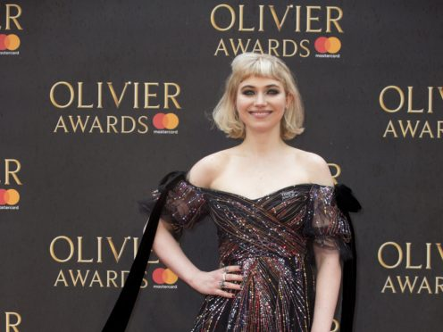 Imogen Poots says opinionated women on film sets are still perceived negatively (Isabel Infantes/PA)