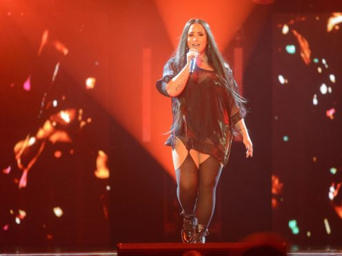 Demi Lovato appeared to reference her near-fatal drug overdose in the music video for her latest single I Love Me (John Linton/PA)