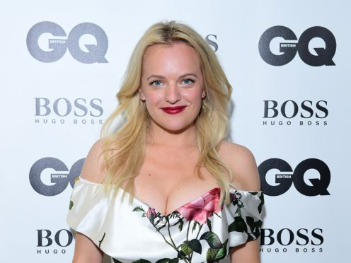 Elisabeth Moss said filming of The Handmaid's Tale had been put on hold (Ian West/PA)