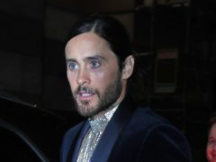 Jared Leto shared a photo of the damage to the frayed rope (Yui Mok/PA)
