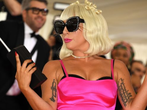 Lady Gaga's track was fifth in the singles chart (Jennifer Graylock/PA)