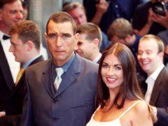 Vinnie Jones and his wife Tanya (Michael Crabtree/PA)