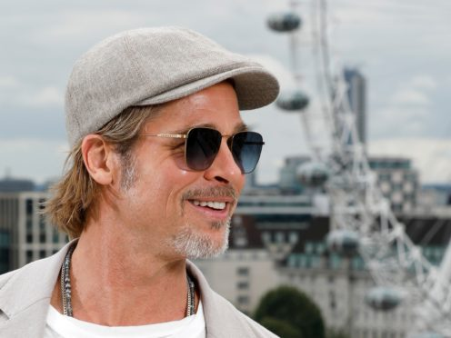 Brad Pitt is to appear on Celebrity IOU (David Parry/PA)