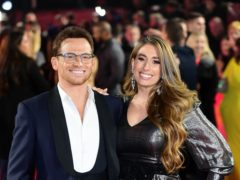 Stacey Solomon says Dancing On Ice champion Joe Swash 'achieved the impossible' (Ian West/PA)
