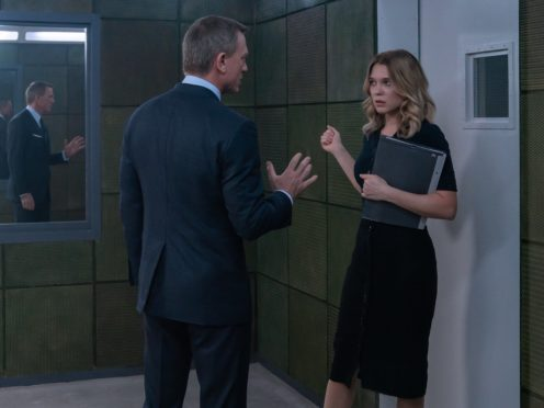Lea Seydoux in the new Bond film No Time To Die (Nicole Dove/Danjaq, LLC/MGM/PA)