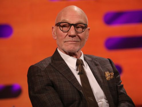 Sir Patrick Stewart uploaded footage of him reading a William Shakespeare poem (Isabel Infantes/PA)