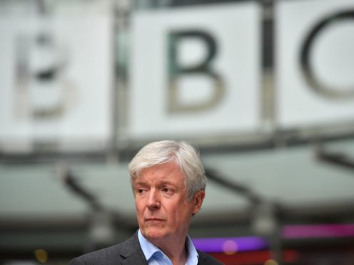 BBC boss Lord Hall (Ben Stansall)