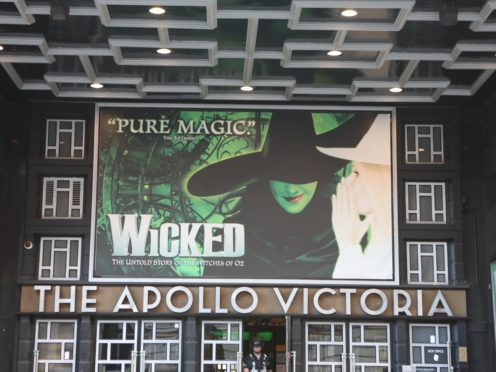 The Apollo Victoria Theatre in London (Luciana Guerra/PA)
