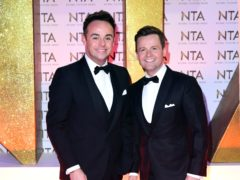 Ant and Dec presented the show from their homes (Ian West/PA)